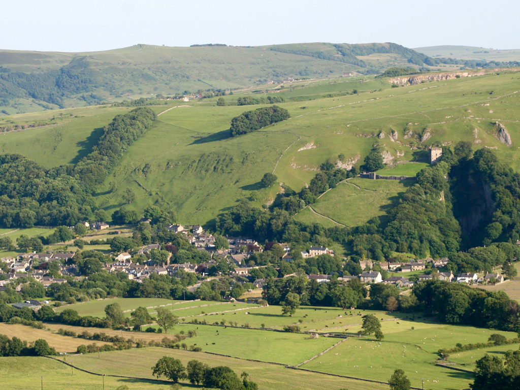 Castleton as seen from Losehill