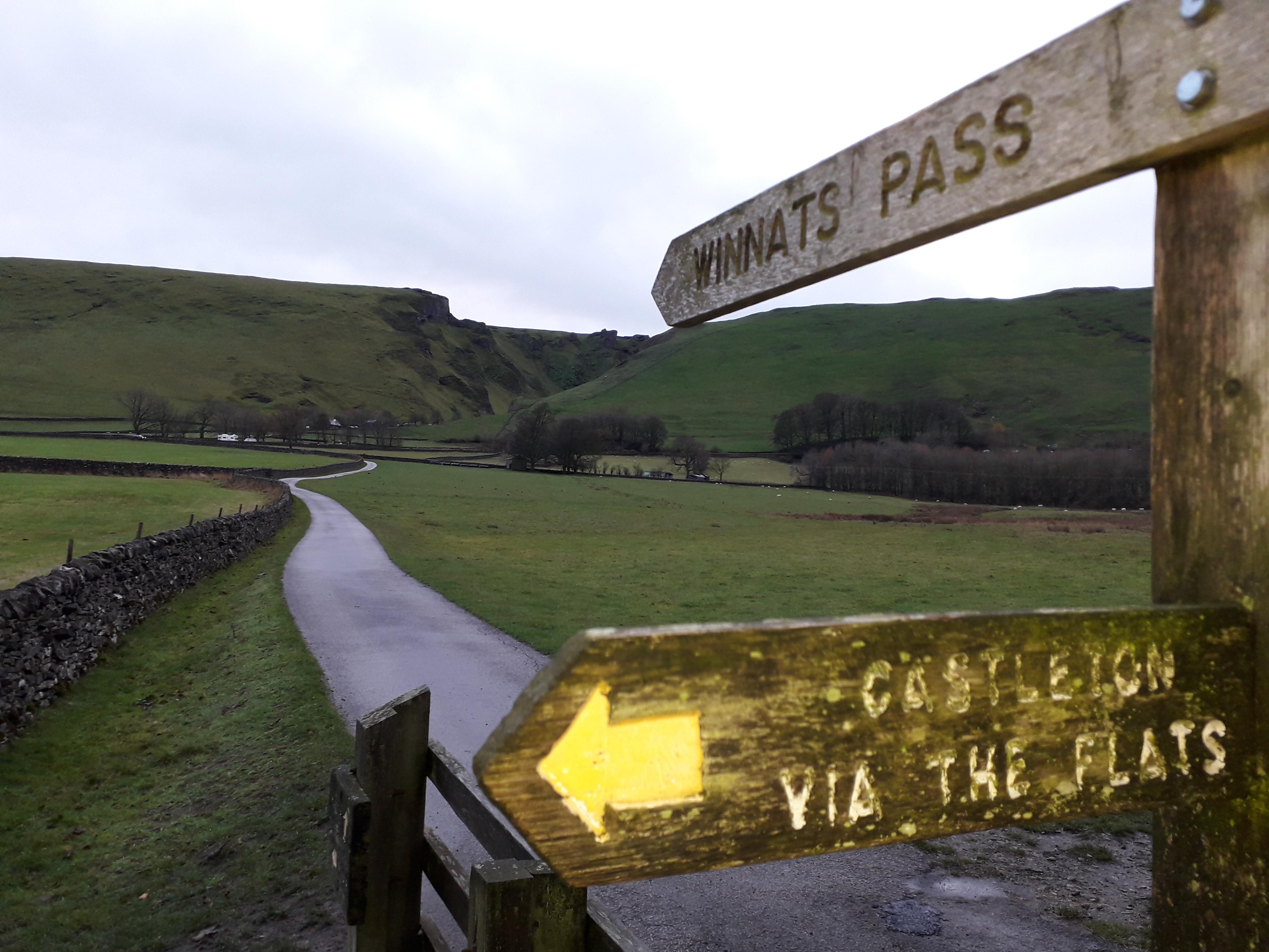 Our Circular Walk via Speedwell Cavern winnats pass